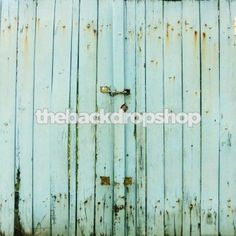 Light Blue Barn Wall Backdrop for Photography - Wedding or Engagement Photoshoot Background - Item 1404