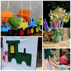 tractor party actvivites celebrate