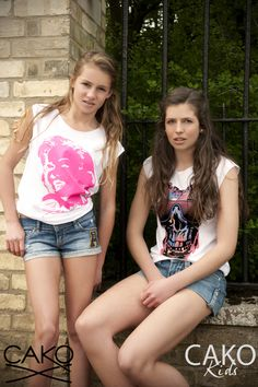 #CAKOTEAM #CAKO #Ladies #Kids #Teens #Marylin #Fluo #Skull #Tee #T #print #burstofcolour #sun #Magic #Fashion #Lookbook