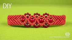 Wavy Chevron Bracelet with Beads - Tutorial « Jewelry