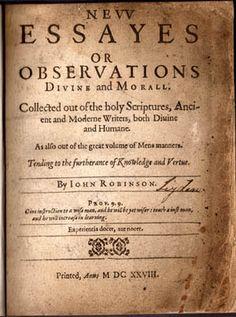 Books written by the Pilgrims