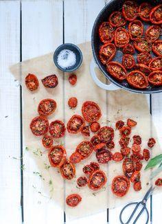 Langtidsbagte tomater - det perfekte tilbehør