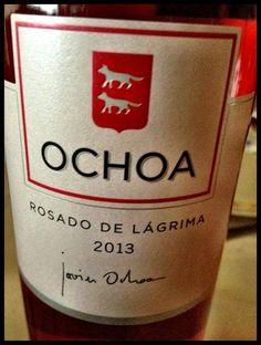 El Alma del Vino.: Bodegas Ochoa Rosado de Lágrima 2013.