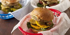 Cue all the usual comparisons between store-bought veggie burgers and hockey pucks—then forget you ever heard them. Because these plant-based burgers are actually delicious, so you won't get the usual pitying looks from your meat-loving friends when they see you eating one at your next cookout. In fact, they might even ask for one of their own.