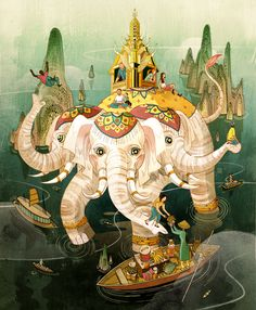 Victo Ngai, Around the World Victo Ngai Although I have been...