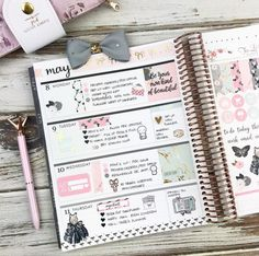 Ideas Diy Cuadernos Ideas Erin Condren For 2019 Mini Happy Planner, Cute Planner, Planner Layout, Planner Ideas, Planner Diy, Planner Supplies, Printable Planner, Planner Stickers, Bujo
