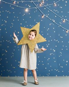 twinkle star costume DIY with LED lights by mer_mag