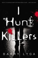 """I Hunt Killers by Barry Lyga.  Summary  Seventeen-year-old Jazz learned all about being a serial killer from his notorious """"Dear Old Dad,"""" but believes he has a conscience that will help fight his own urges and right some of his father's wrongs, so he secretly helps the police apprehend the town's newest murderer, """"The Impressionist.""""    ISBN  9780316125840 (hbk.)"""