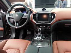 Interior Maserati Ghibli