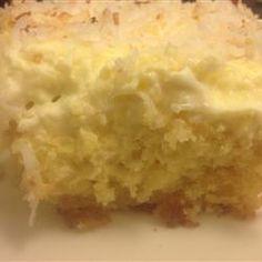 Hawaiian Wedding Cake Iii Allrecipes 1 18 25 Ounce Package Yellow Mix