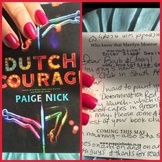 Maya & Kahlil    Thank you so much Paige Nick for the postcard. Your Book, #DeathByCarbs, has changed our lives!!!  Can't wait for your book launch... Cape Town Book Launch of Dutch Courage by Paige Nick Love you Doll Face!!!! From Cheryl and Barb #DutchCourage #Writer #Author #BookLaunch #PaigeNick #MayaKahlil #YouTubers #SouthAfrica #CapeTown Beefcakes Cape Town