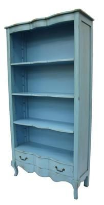 Bookcase --- something like this would go beautifully with my armoire and dressers!