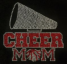 Check out this item in my Etsy shop https://www.etsy.com/listing/246842704/cheer-mom-bling-shirt