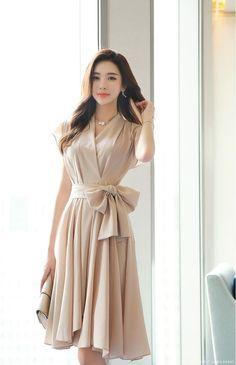 Romantic & Trendy Looks, Styleonme Stylish Work Outfits, Stylish Dresses, Simple Dresses, Classy Outfits, Elegant Dresses, Pretty Dresses, Beautiful Dresses, Casual Dresses, Short Dresses