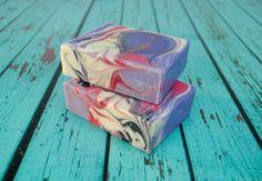 Black Raspberry Vanilla Homemade Soap,  Handmade Goat Milk Soap, Homemade Soap for Her,  Spring Soap, Homemade Soap