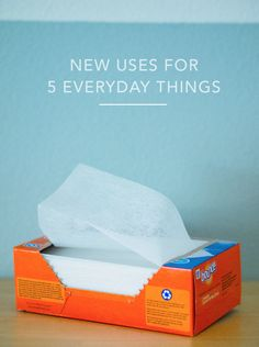 New uses for 5 everyday things