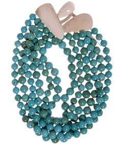 Monies Turquoise Stones Necklace /3122