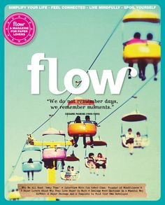 Flow Magazine 10 In this issue: DIY: The beauty of curly lettering: calligraphy is back. Why are we often afraid of our emotions? We should welcome them, because they tell us a lot about ourselves. Want to change some things? Try to do it step by step. Small shifts are better than radical changes. Extras: Paper sheets to make your own envelopes. An envelope stencil.