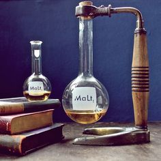 laboratory glassware malt decanter