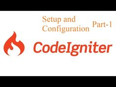 setup configuration part 1 make blog in codeigniter