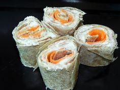 Sushi Light de Pão (+ variações)  #receita