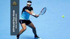 Nadal tundukkan Murray di ATP World Tour Finals 2015 Tennis Racket, Finals, Tours, World, Final Exams, The World