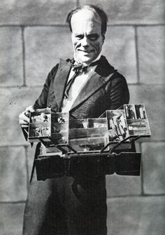The Phantom Of The Opera - Lon Chaney Displaying His Makeup Case