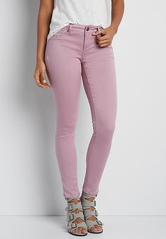 http://www.maurices.com/product/denimflex-trade-washed-jegging-in-pastel-berry/47571 -- $34.00