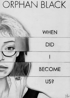 Sestras (Orphan Black Graphite Drawing) by julesrizz