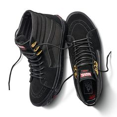 ff7139aab7 Vans Marvel Limited Edition Hi Black Panther FA Supreme Mens sizes
