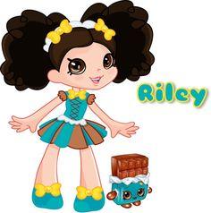 Custom Shopkin Shoppies Doll Design by GeekItLikeMeShop on Etsy