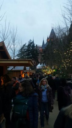 Christmas market at the castle