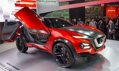 Nissan provided a look at the future of sporty crossovers with the introduction of the Gripz concept... - Perry Stern, Automotive Content Experience