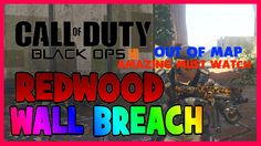 Black Ops 3 New Secret Wood Cabin Wallbreach On Redwood Cool Glitch
