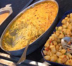 Cheesy Potatoes Recipe served at Chef Mickeys in Contemporary Resort at Disney World