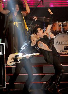 Adam Lambert and Tommy Joe Ratliff