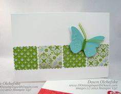 Easy! Postage stamp punch    Dawn Olchefske