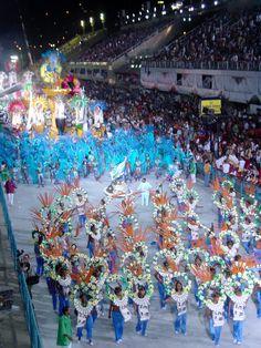 Carnival Floats at the Sambadrome in Rio de Janeiro, Brazil - Bill's Photo 3/2/2003
