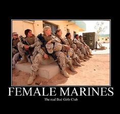 """Bad Girls Club"" ain't got sh*t on the women of the marines. The REAL bad girls. Once A Marine, My Marine, Us Marine Corps, Marine Ball, Female Marines, Female Soldier, Women Marines, Female Warriors, Warriors Today"