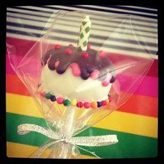 Bday Cake Pops