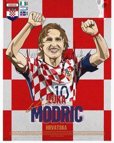 Luka Modrić um rival mais do que temido.  #modric #lukamodric #croatia #hravatska #worldcup