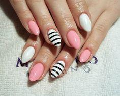 Pazurki żelowe, hybrydy, zdobienie :) - Stylizacja paznokci i rzęs - Kasia Beśka - kasienka-nails.pinger.pl