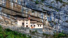 Hermitage of St. Columban in Trentino, Italy