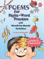 This poem was also included for E.S.O.L. selection as well because it provides word for word practice.