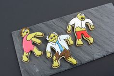 Decorated Zombie Cookies