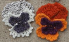 The pansy is my FAVORITE flower so that's probably the only reason why I want to make these!