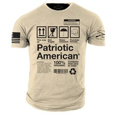 You can get a discount on this Grunt Style - Patriotic American T-Shirt on GovX! If you sign up here, you get $15 off your first order!