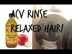 Apple Cider Vinegar Rinse (ACV rinse) on Relaxed Hair! (Relieve itchy/dry scalp) -  CLICK HERE for The No. 1 Itchy Scalp, Dandruff, Dry Flaky Sore Scalp, Scalp Psoriasis Book! #dandruff #scalp #psoriasis Hey lovelies! In this video I show you how I did an apple cider vinegar rinse on my relaxed hair hope you enjoy! F O L L O W M E IG: alanaa.marie twitter: _alanamariee or... - #Dandruff