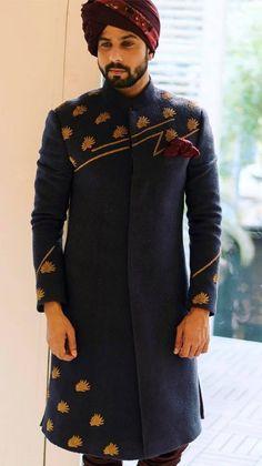 """Portfolio"" album of Sherwani Jatin Malik in Delhi NCR Sherwani For Men Wedding, Wedding Dresses Men Indian, Mens Sherwani, Kurta Men, Formal Dresses For Men, Groom Wedding Dress, Wedding Men, Wedding Suits, Sherwani Groom"
