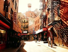 Chinatown. New York City.